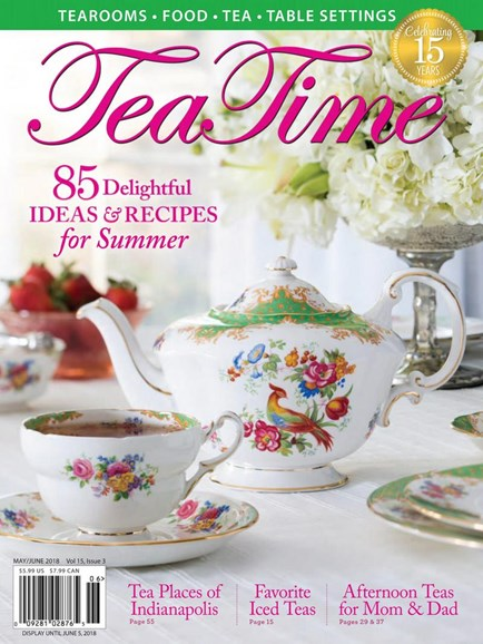 Tea Time Cover - 5/1/2018