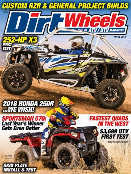 Dirt Wheels Cover - 4/1/2018