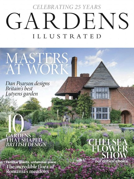 Gardens Illustrated Cover - 5/1/2018