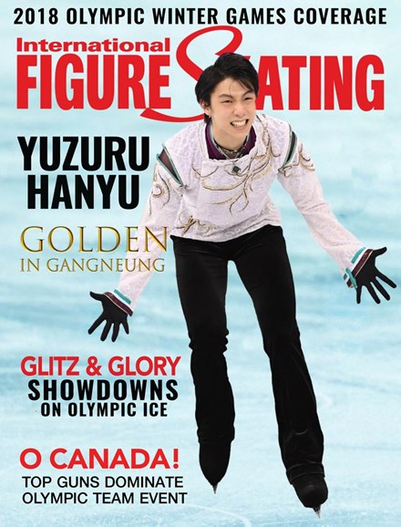 International Figure Skating Cover - 3/1/2018