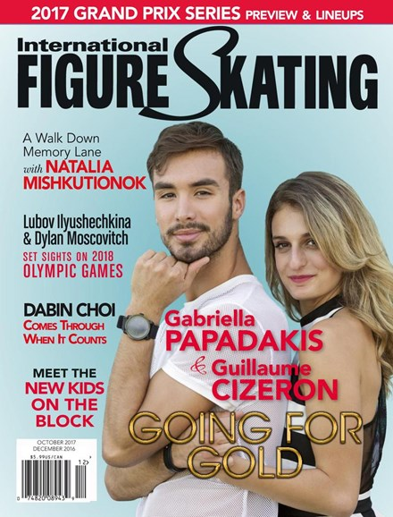 International Figure Skating Cover - 9/1/2017