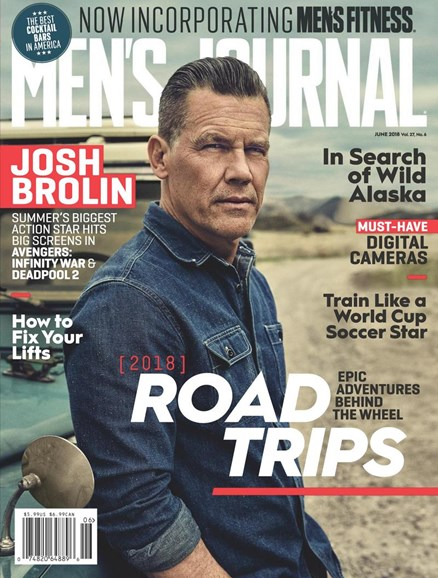 Men's Journal Cover - 6/1/2018