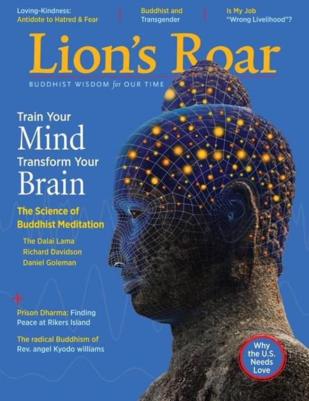 Lion's Roar Cover - 1/1/2018