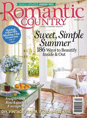 Romantic Country Magazine | 6/1/2018 Cover