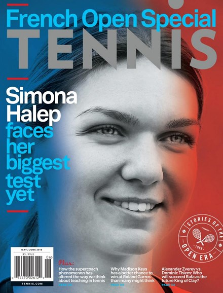 Tennis Magazine Cover - 5/1/2018