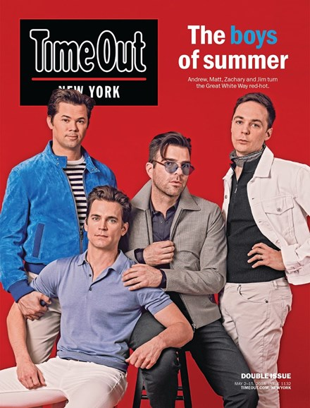 Time Out New York Cover - 5/2/2018