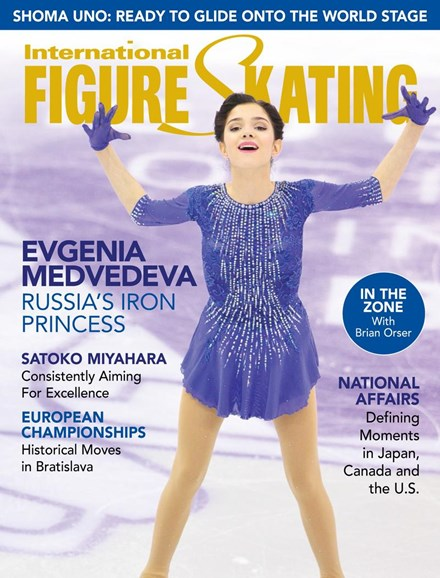 International Figure Skating Cover - 4/1/2016