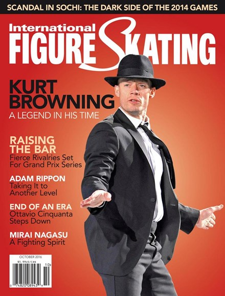 International Figure Skating Cover - 9/1/2016