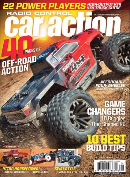 Radio Control Car Action Cover - 4/1/2018