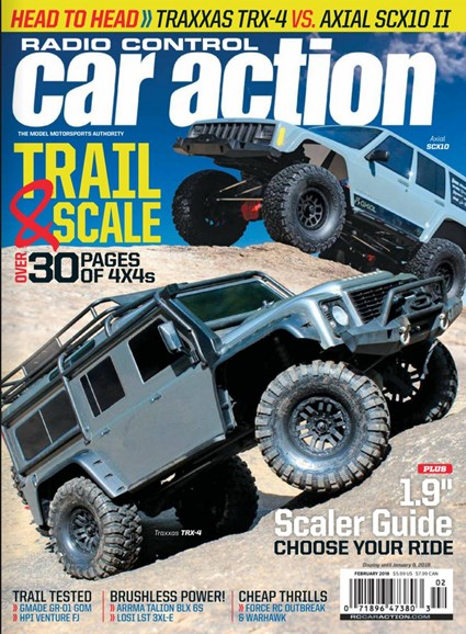 Radio Control Car Action Cover - 2/1/2018
