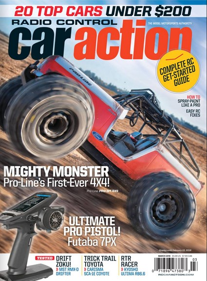 Radio Control Car Action Cover - 3/1/2018