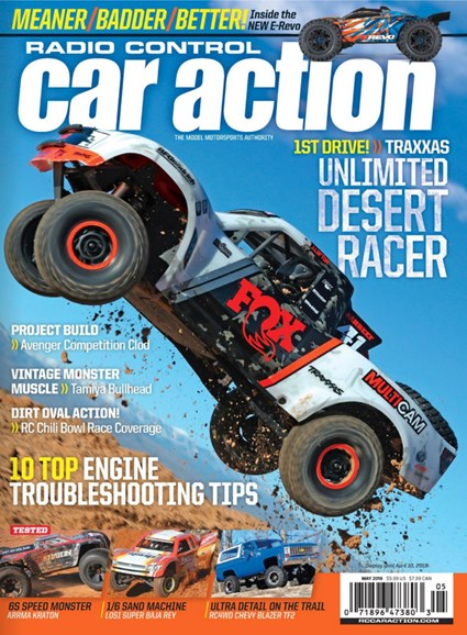 Radio Control Car Action Cover - 5/1/2018