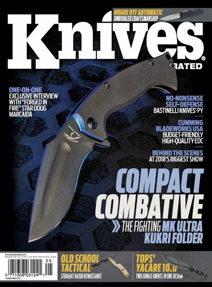 Knives Illustrated Cover - 5/1/2018