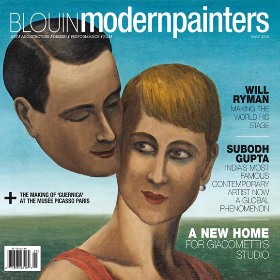 Blouin Modern Painters Cover - 5/1/2018