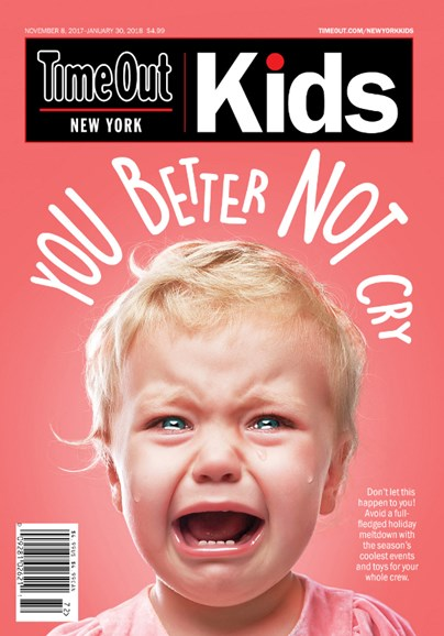 Time Out New York Kids Cover - 11/8/2017