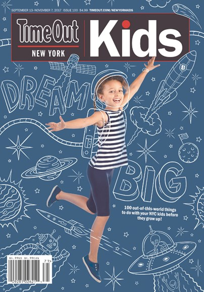 Time Out New York Kids Cover - 9/13/2017