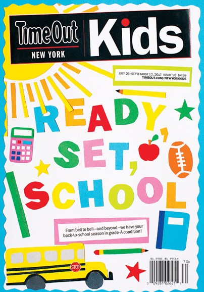 Time Out New York Kids Cover - 7/26/2017