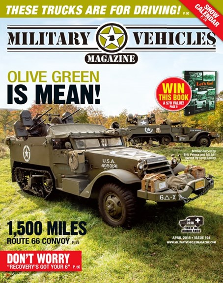 Military Vehicles Cover - 4/1/2018