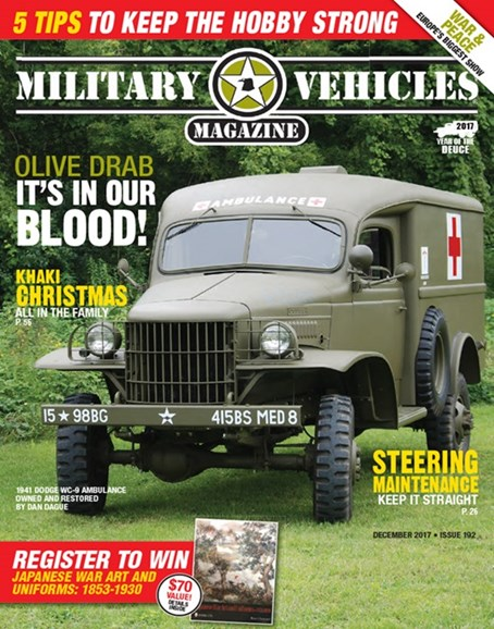 Military Vehicles Cover - 12/1/2017