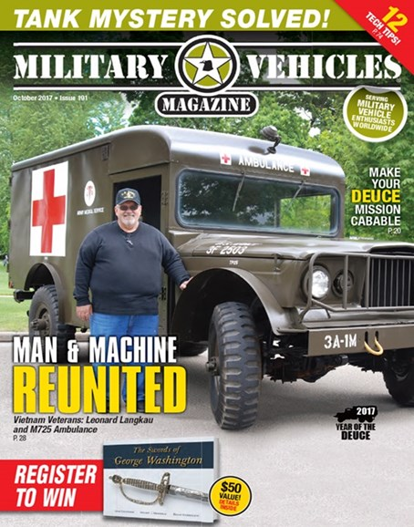 Military Vehicles Cover - 10/1/2017