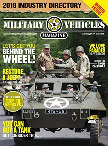 Military Vehicles Cover - 3/1/2018
