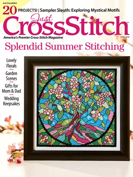 Just CrossStitch Cover - 6/1/2018