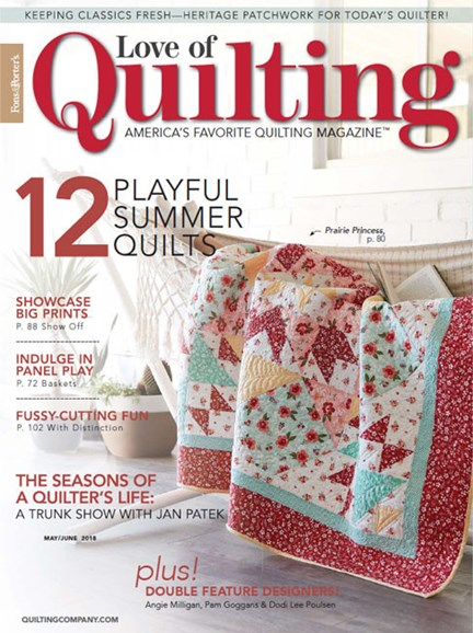 Fons & Porter's Love of Quilting Cover - 5/1/2018
