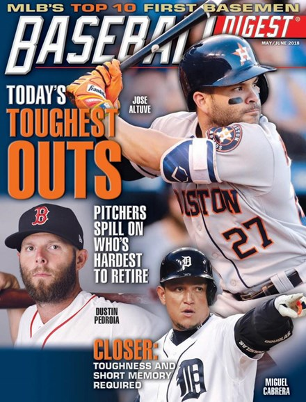 Baseball Digest Cover - 5/1/2018