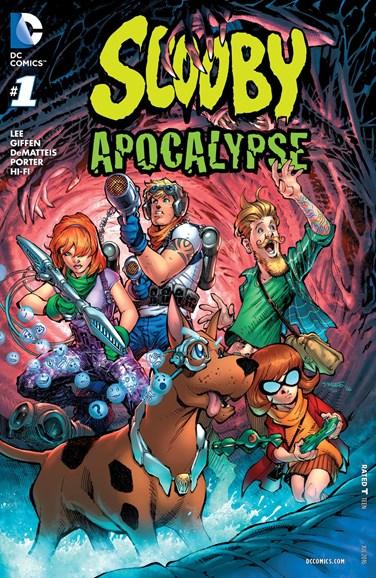 Scooby Apocalypse Cover - 7/1/2016