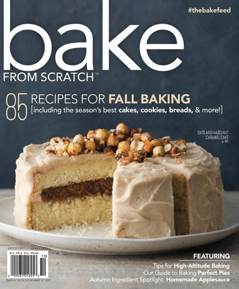 Bake From Scratch Cover - 9/1/2017