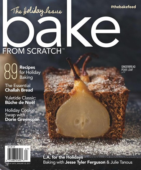 Bake From Scratch Cover - 12/1/2016