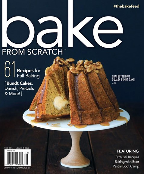 Bake From Scratch Cover - 11/1/2016