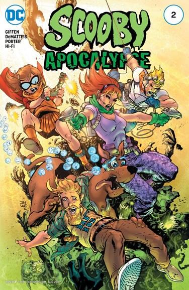 Scooby Apocalypse Cover - 8/1/2016