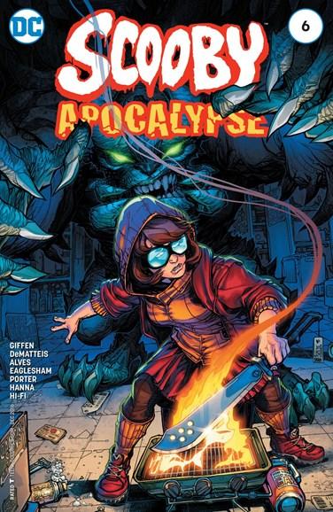 Scooby Apocalypse Cover - 12/1/2016