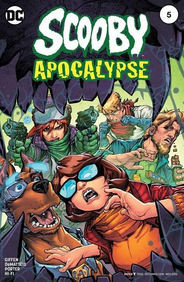 Scooby Apocalypse Cover - 11/1/2016