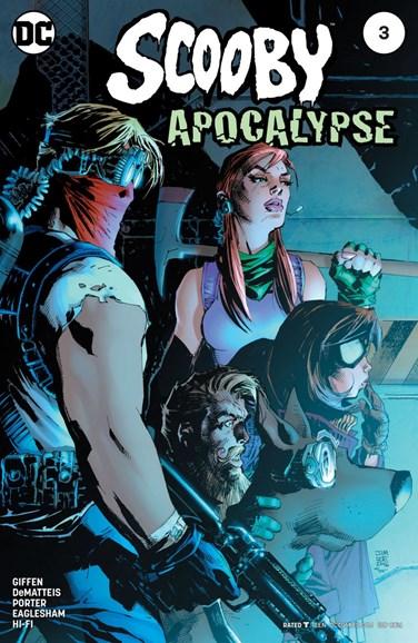 Scooby Apocalypse Cover - 9/1/2016