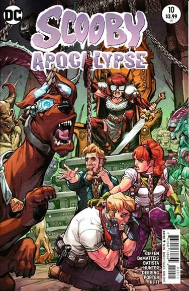Scooby Apocalypse Cover - 4/1/2017
