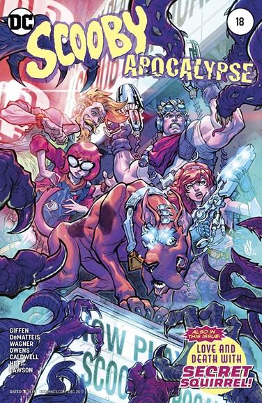Scooby Apocalypse Cover - 12/1/2017