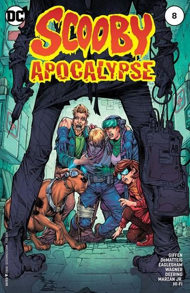 Scooby Apocalypse Cover - 2/1/2017