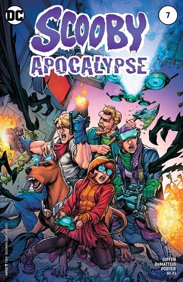 Scooby Apocalypse Cover - 1/1/2017