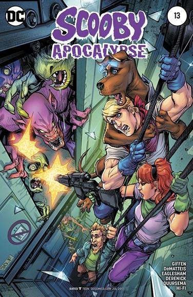 Scooby Apocalypse Cover - 7/1/2017