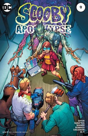 Scooby Apocalypse Cover - 3/1/2017