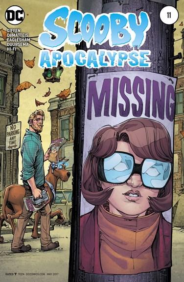 Scooby Apocalypse Cover - 5/1/2017