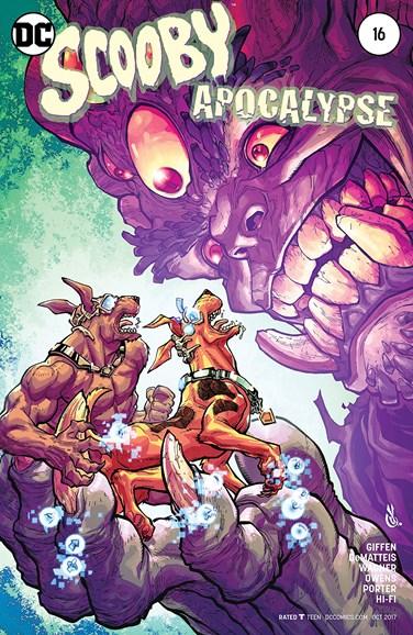Scooby Apocalypse Cover - 10/1/2017