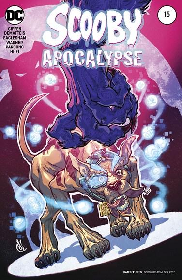 Scooby Apocalypse Cover - 9/1/2017