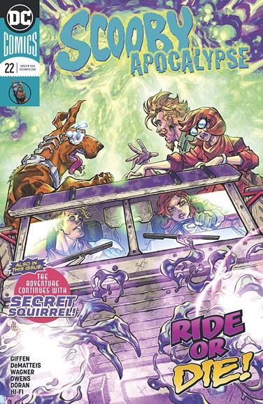 Scooby Apocalypse Cover - 4/1/2018