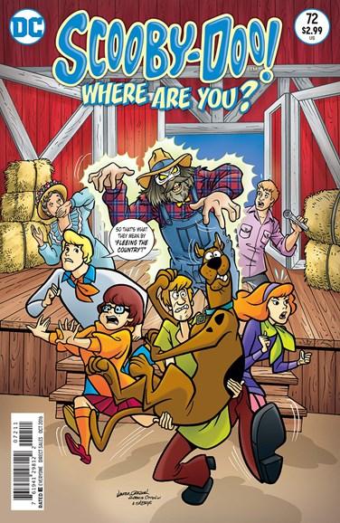 Scooby Doo, Where Are You? Cover - 10/1/2016