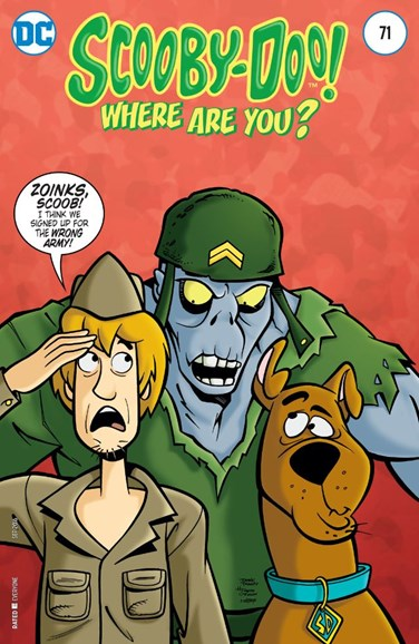 Scooby Doo, Where Are You? Cover - 9/1/2016
