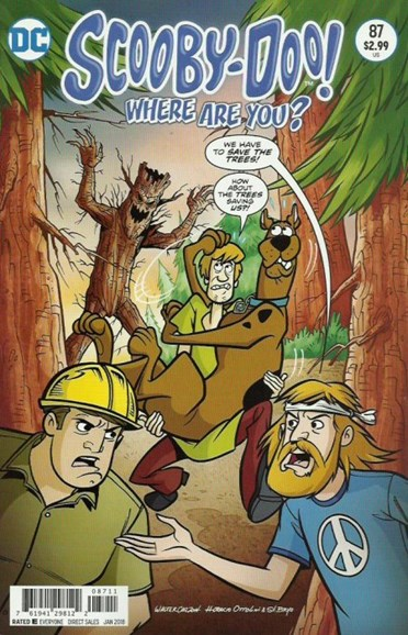 Scooby Doo, Where Are You? Cover - 1/1/2018