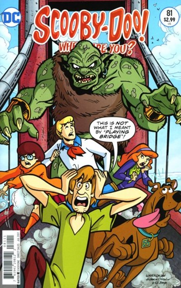 Scooby Doo, Where Are You? Cover - 7/1/2017